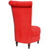 Picture of Living Room High Back Chair - Red