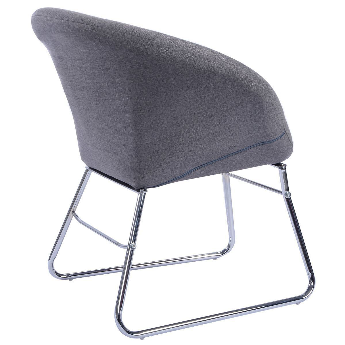 Picture of Living Room Modern Accent Chair Leisure Arm Lounge Furniture Gray