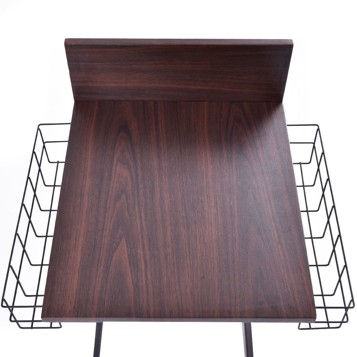 Picture of Living Room Side Table for Sofa Furniture with Storage Basket