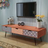 """Picture of Living Room TV Cabinet with 3 Drawers 47"""" - Brown"""