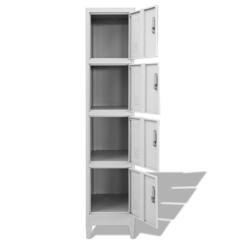 Picture of Locker Cabinet Storage with 4 Compartments 15""