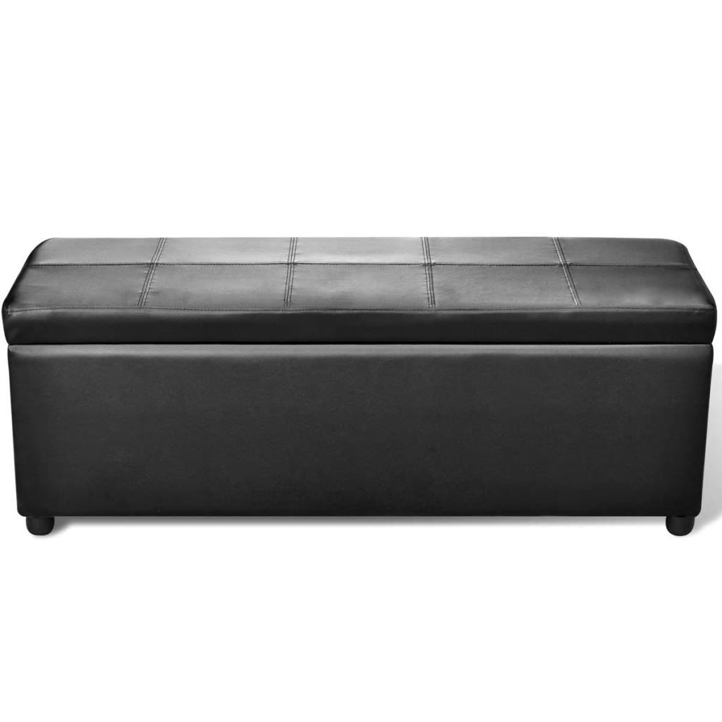Picture of Storage Bench - Black