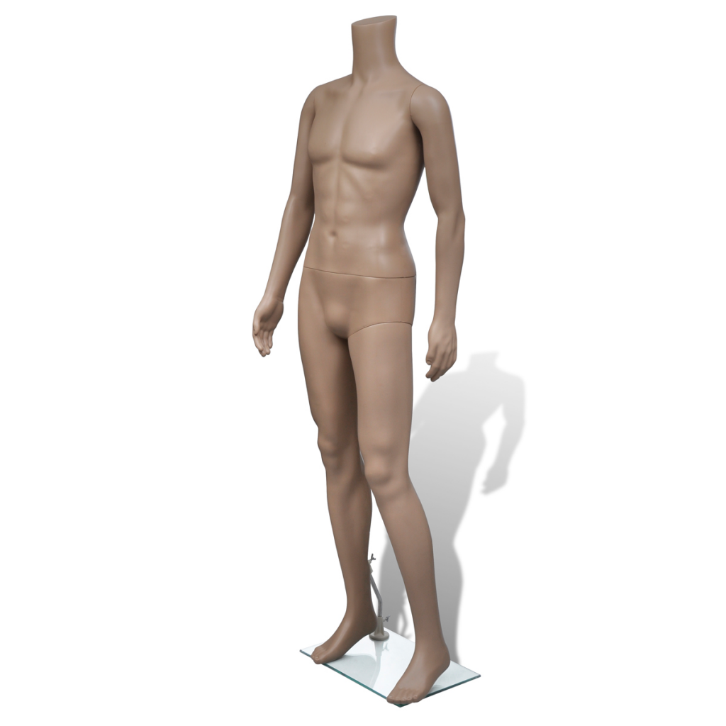 Picture of Male Mannequin Without Head with Stand Clothes Display