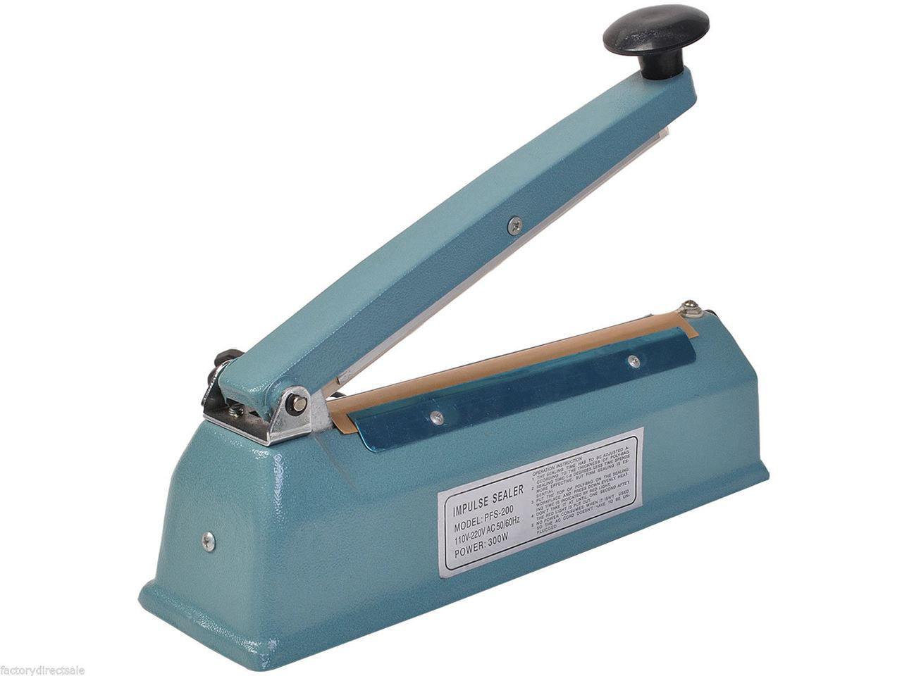 """Picture of 8"""" Plastic Bag Sealer Machine"""