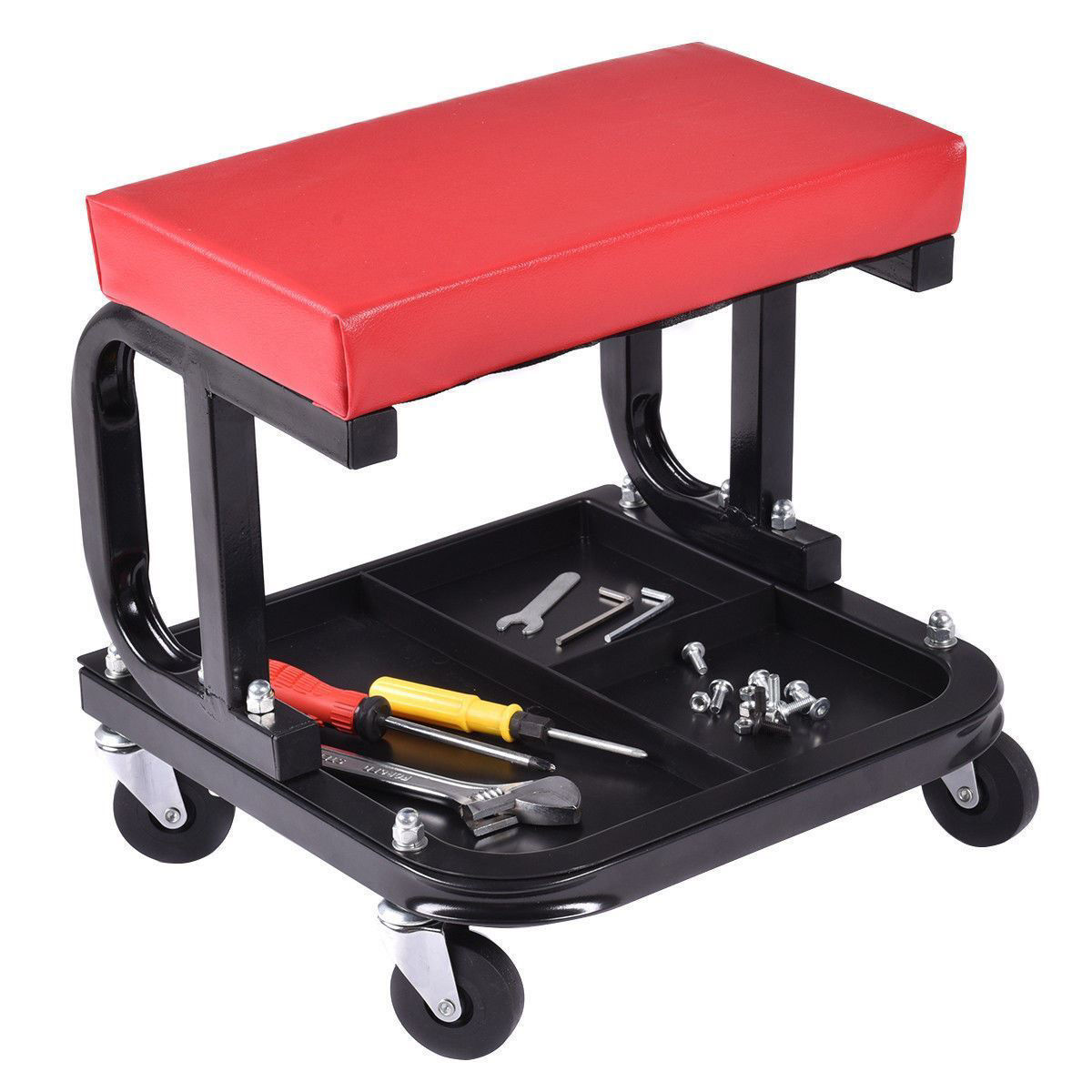 Picture of Mechanic Stool Chair for Repairs with Tray