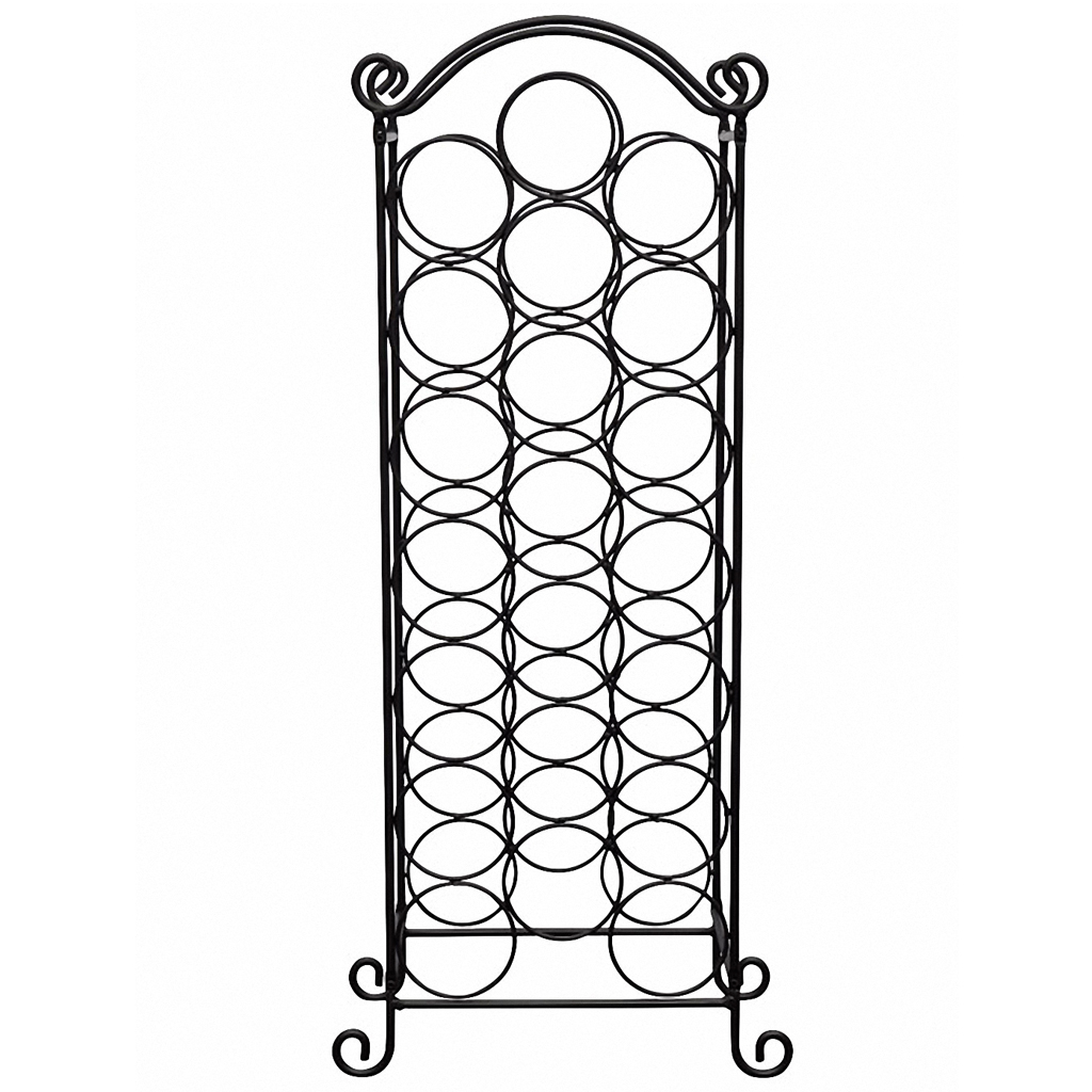 Picture of Metal Wine Rack for 21 Bottles