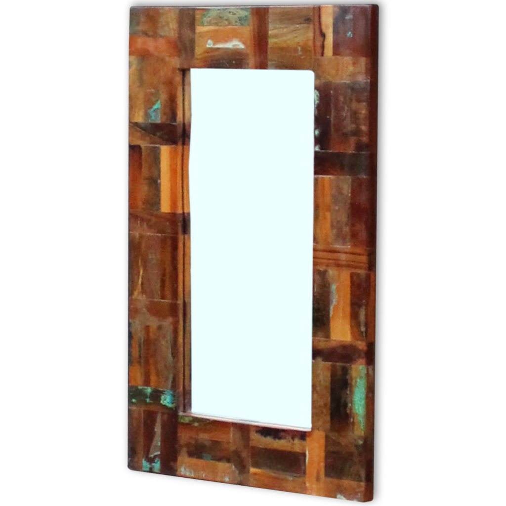 """Picture of Mirror Solid Reclaimed Wood 31.5""""x19.7"""""""
