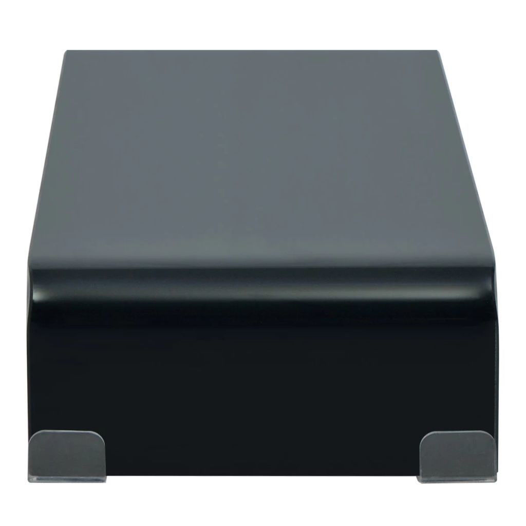 """Picture of Monitor Riser/TV Stand 23"""" - Glass Black"""