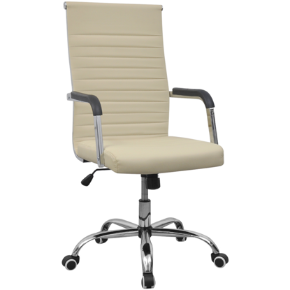 Picture of Office Chair Artificial Leather - Cream
