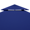 Picture of Outdoor 10' x 10' Waterproof Gazebo Cover Canopy - Dark Blue