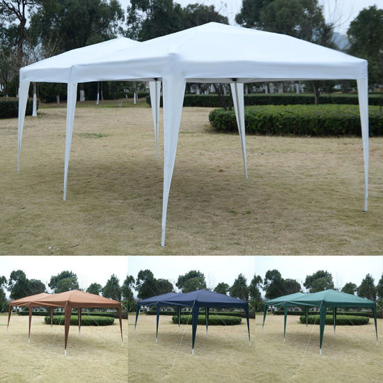 Picture of Outdoor 10x20 EZ Pop Up Folding Party Tent Cross Bar