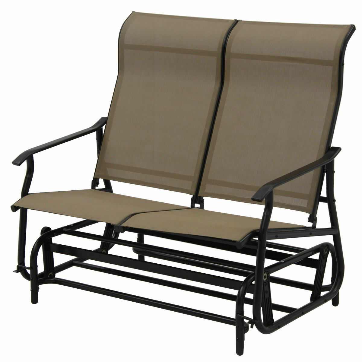 Picture of Outdoor 2-Person Rocking Glider Bench