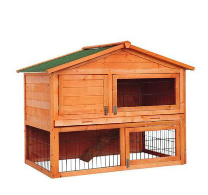 "Picture of Outdoor 48"" Rabbit Chicken Coop Pet Cage"