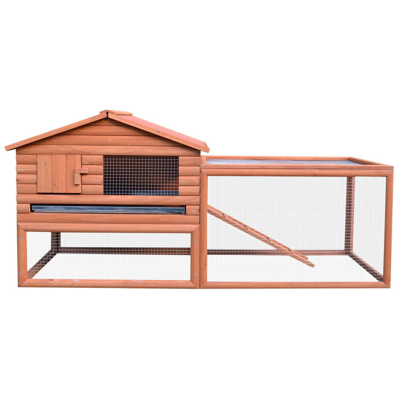 """Picture of Outdoor 62"""" Chicken Coop with Run"""