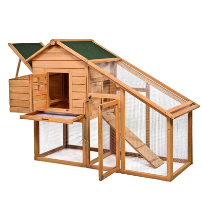 "Picture of Outdoor 75"" Chicken Coop Hen House"