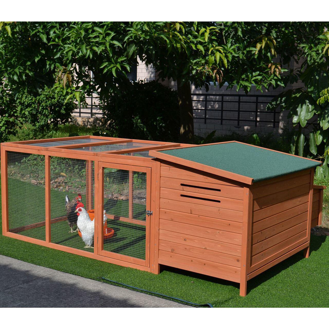 """Picture of Outdoor 87"""" Chicken Coop"""