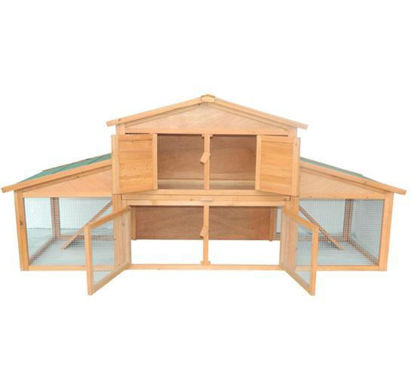 "Picture of Outdoor 91"" Chicken Coop"