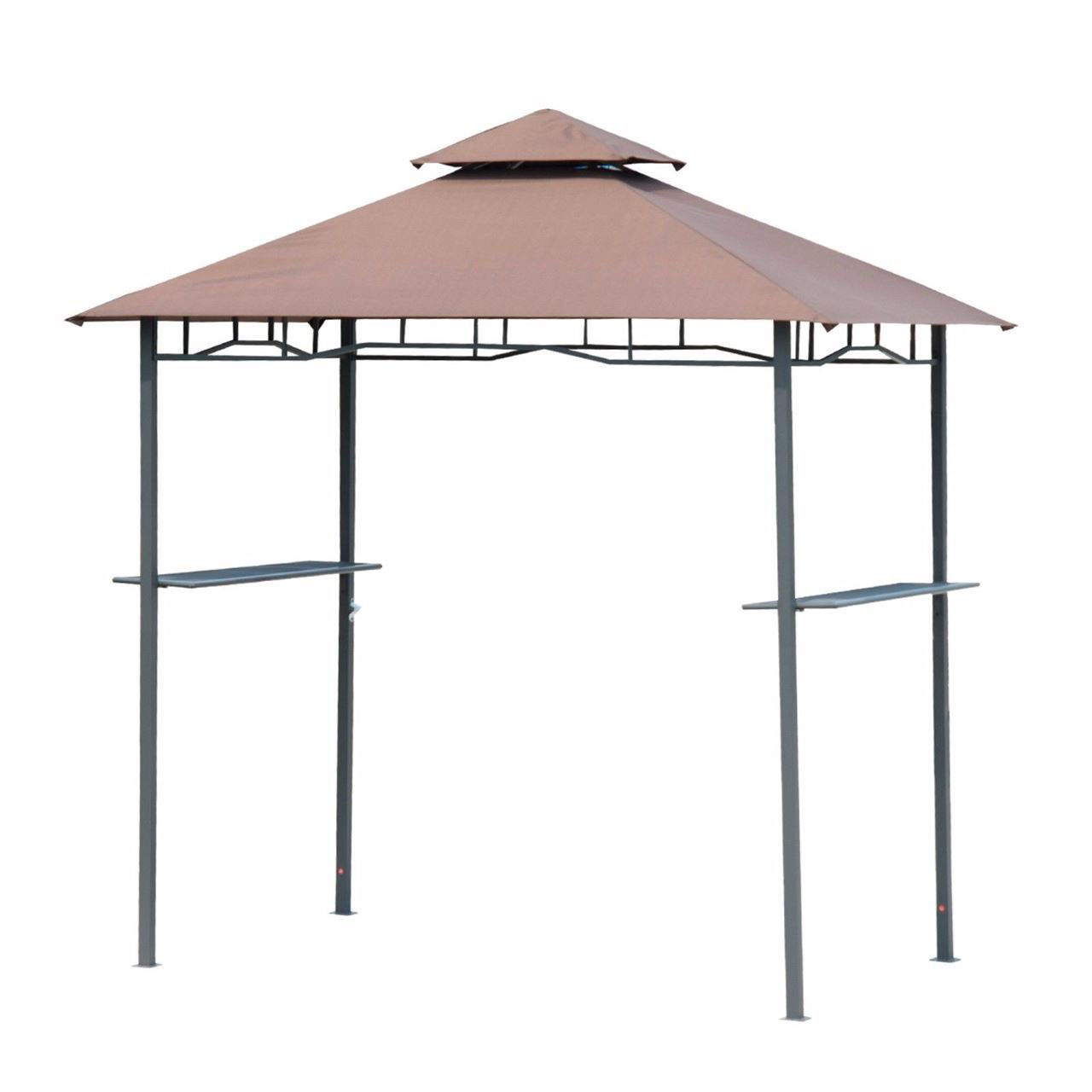 Picture of Outdoor BBQ Grill Canopy Tent Double-tier - 8 ft