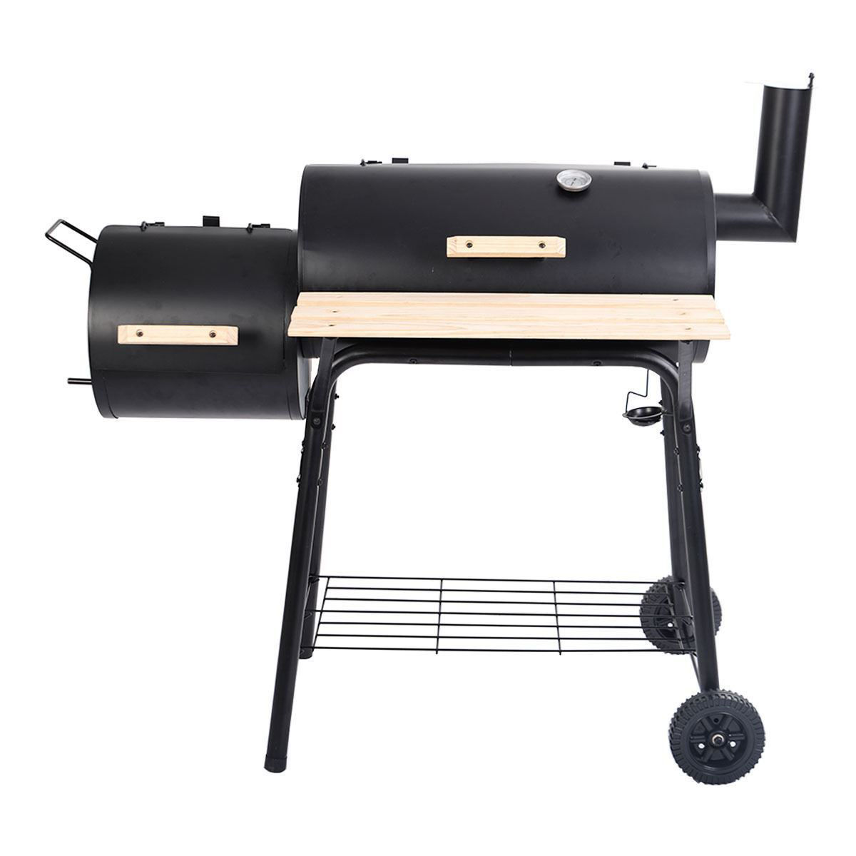 Picture of Outdoor BBQ Grill Charcoal Barbecue Pit Cooker Smoker
