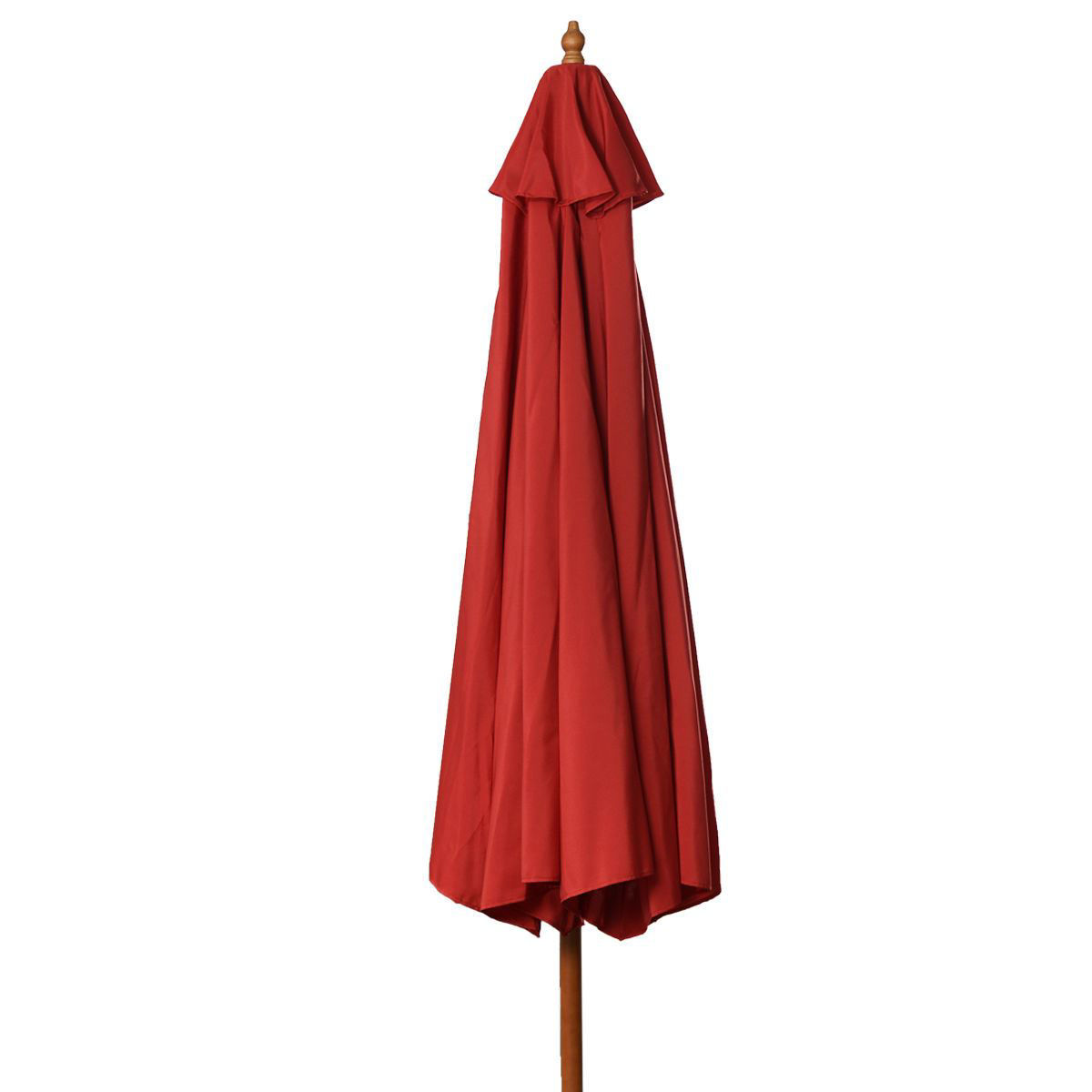 Picture of Outdoor Beach Patio Umbrella - 9ft Red
