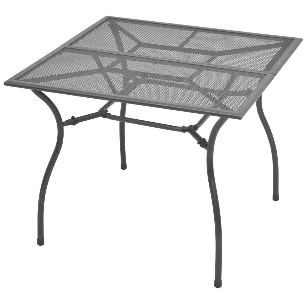 Picture of Outdoor Bistro Set 5pc - Steel Mesh