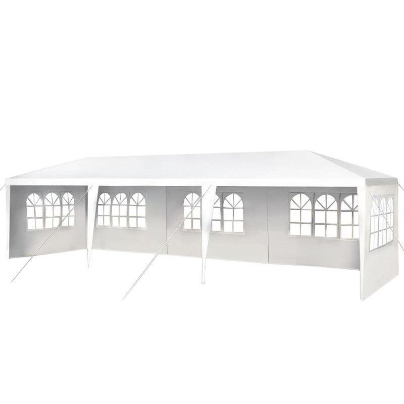 Picture of Outdoor Canopy Tent Heavy Duty Gazebo 10' x 30'