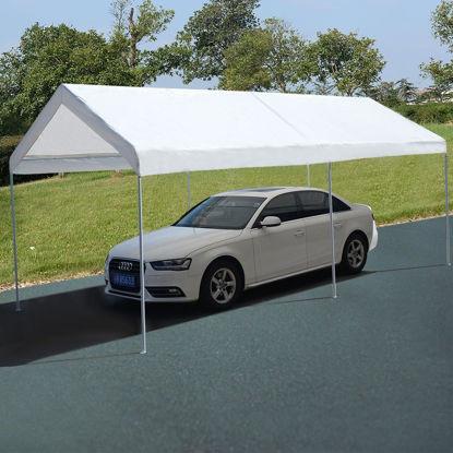 Picture of Outdoor Carport Tent  10 x 20