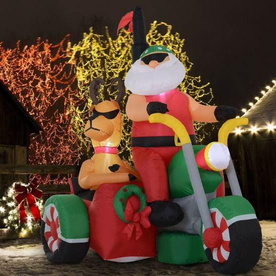 Picture of Outdoor Christmas Inflatable Santa Claus 6 ft