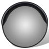 "Picture of Outdoor Convex Traffic Mirror PC Plastic 12"" - Black"