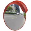 """Picture of Outdoor Convex Traffic Mirror PC Plastic 24"""" - Orange"""