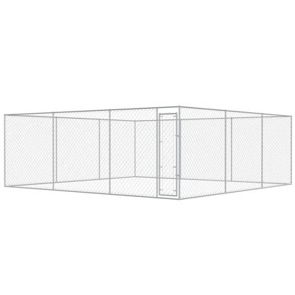 Picture of Outdoor Dog Kennel Galvanized Steel 19x19