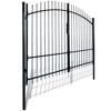 Picture of Outdoor Fence Double Door Gate with Spear Top 10' x 8'