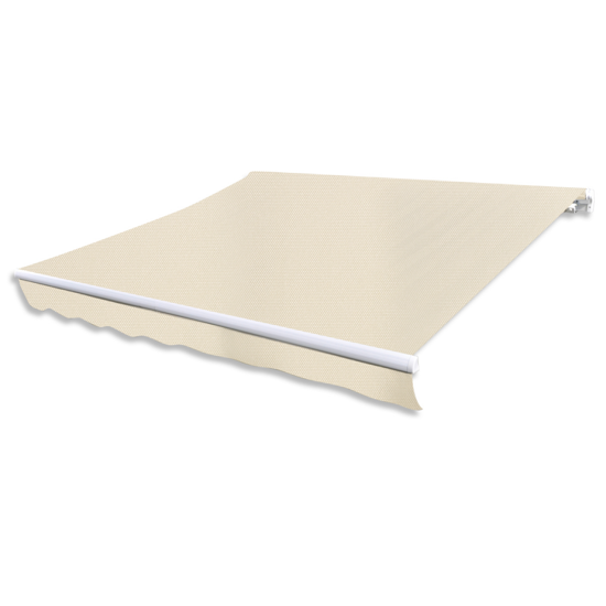 Picture of Outdoor Folding Awning 20' x 10' - Cream