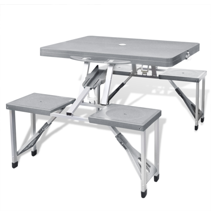 Picture of Outdoor Camping Table Set - Gray