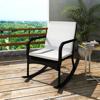 Picture of Outdoor Furniture Garden Rocking Chair Rattan Wicker