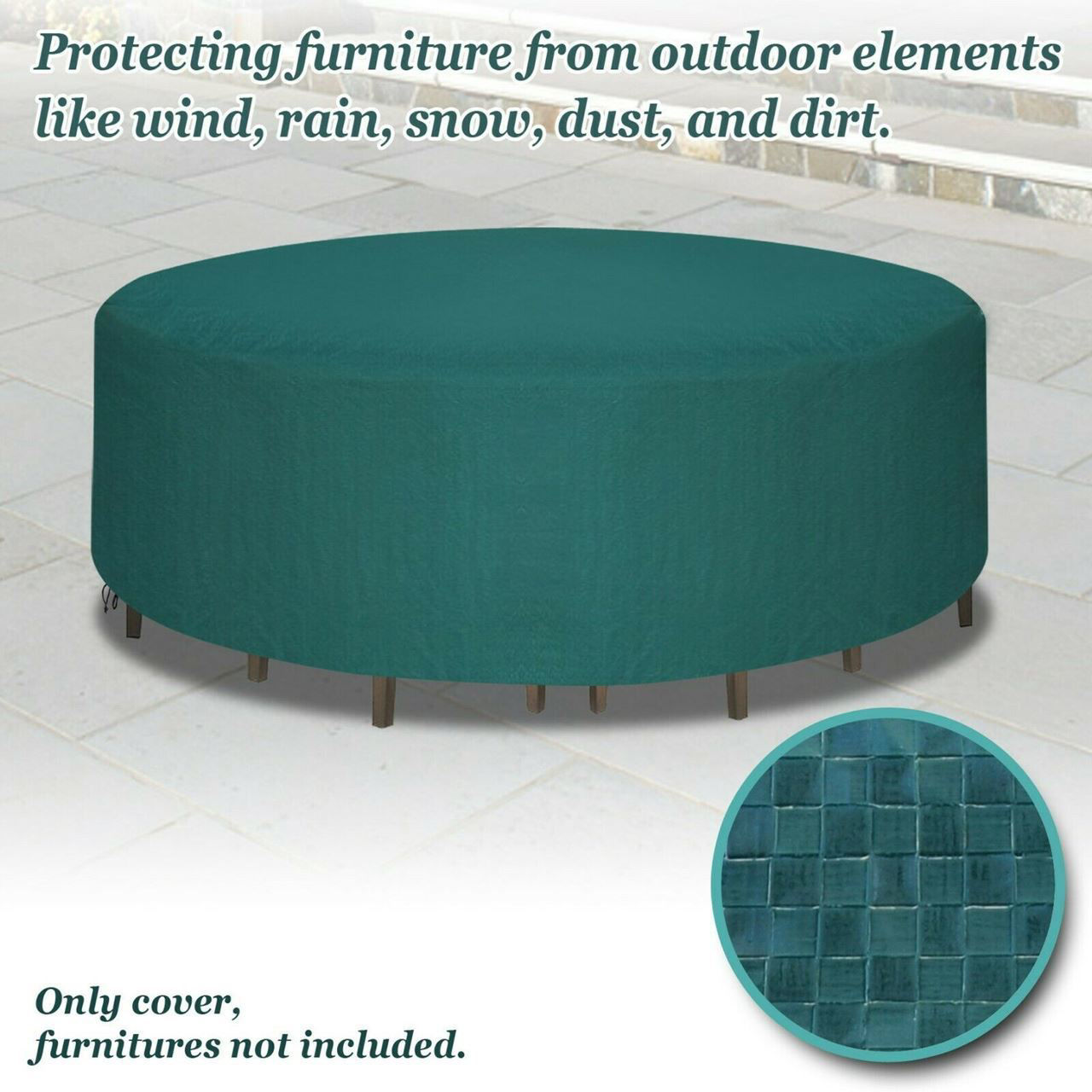 "Picture of Outdoor Furniture Set Cover 96"" Waterproof"