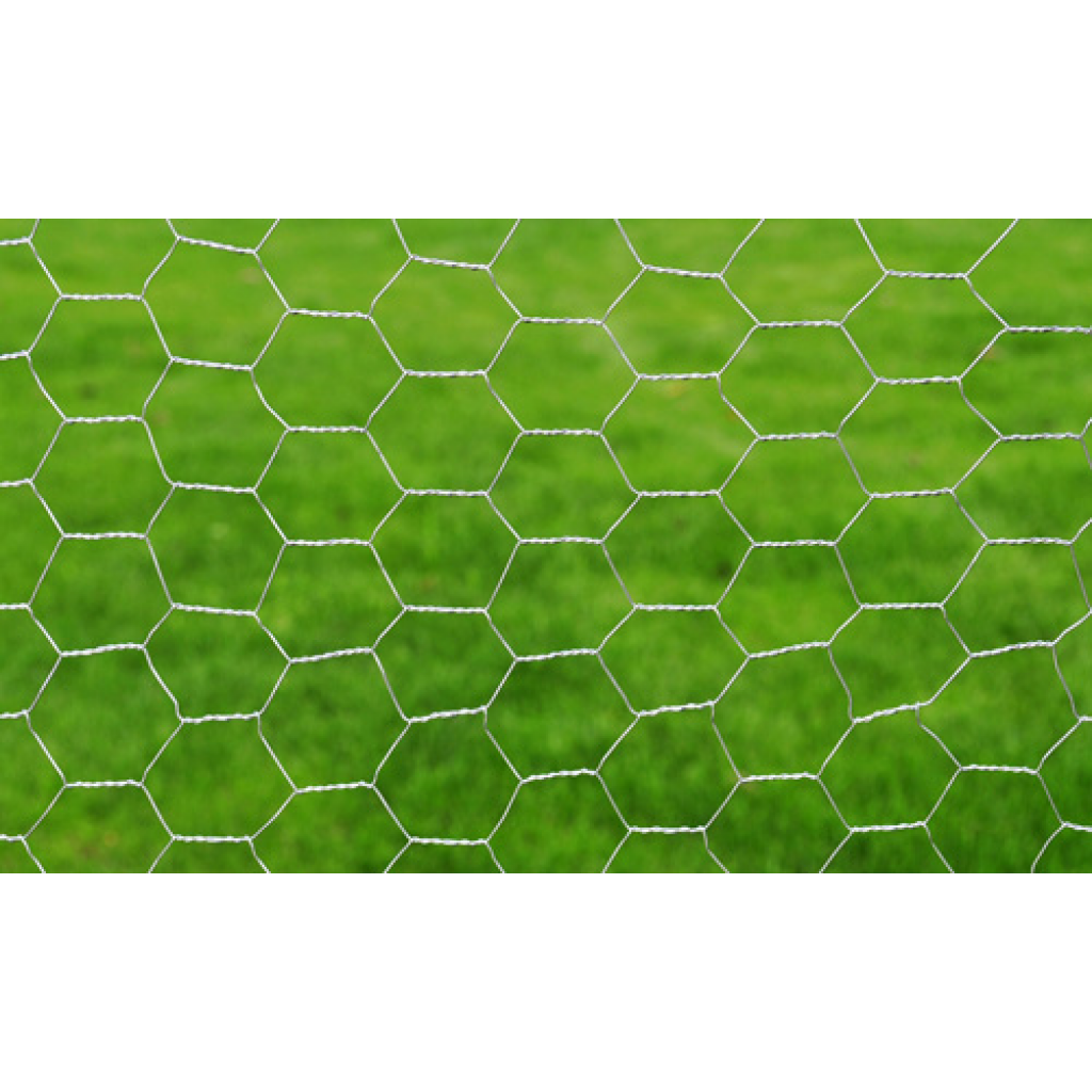"Picture of Outdoor Garden Hexagonal Wire Netting 1' 7"" x 82' Galvanized Mesh - Size 1"""