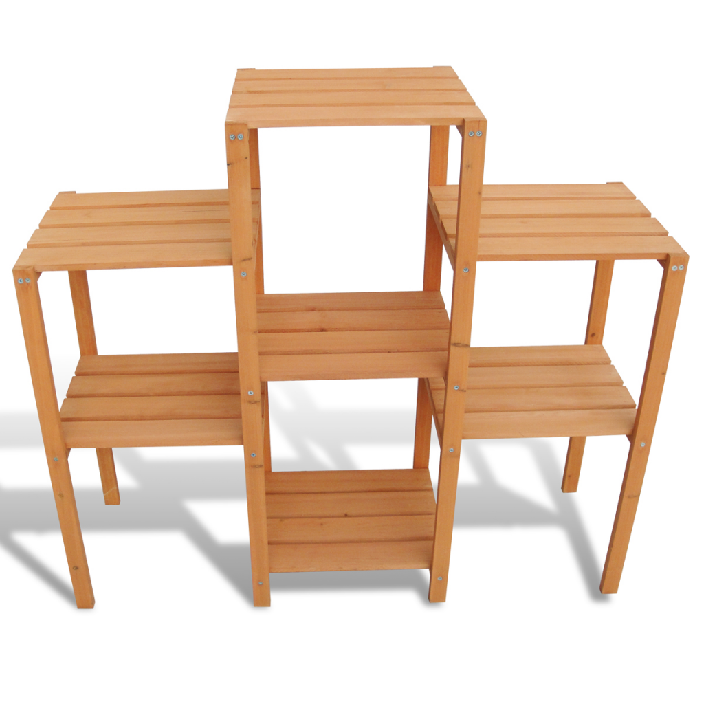 """Picture of Outdoor Garden Plant Stand 2' 12"""" x 1' x 2' 10"""""""