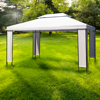 Picture of Outdoor Gazebo Double Roof Party Tent 10' x 13'