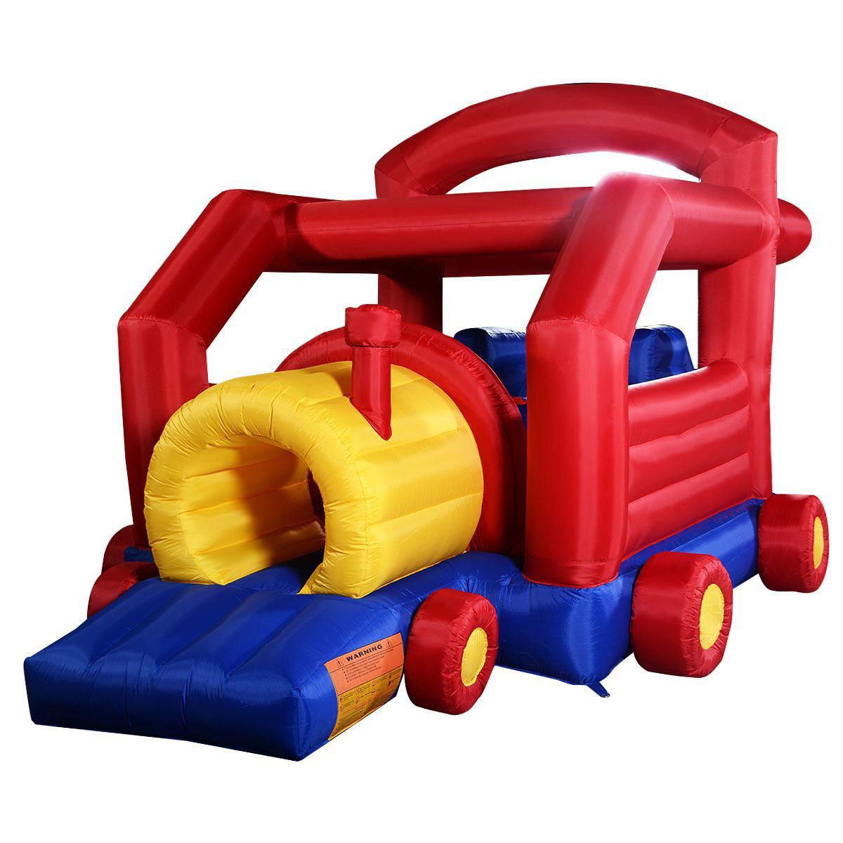 Picture of Outdoor Inflatable Slide Bouncer Jumper House Train without Blower