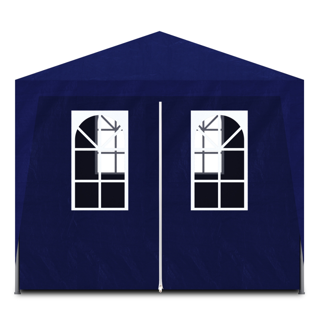 Picture of Outdoor Party Tent 10' x 20' with 6 Walls - Blue