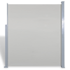 Picture of Outdoor Patio 6' x 10' Screen Terrace Side Awning  - Cream Color