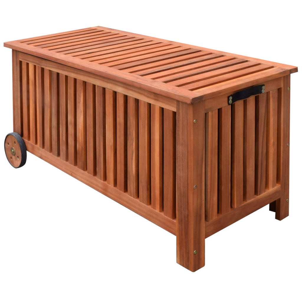 Picture of Outdoor Patio Cushion Wood Box 46""