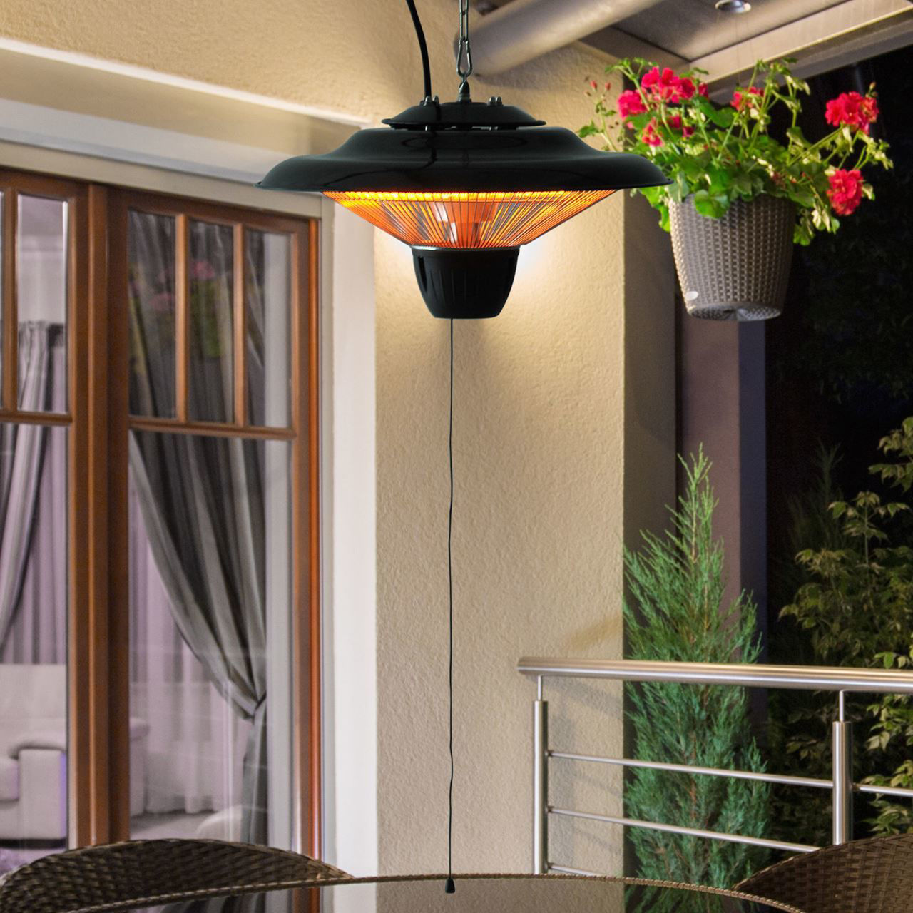 Picture of Outdoor Patio Heater Ceiling - 1500W