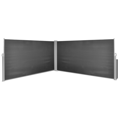 """Picture of Outdoor Patio Side Awning 63""""x236"""" -  Black"""