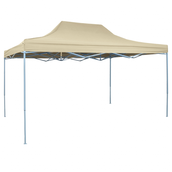 Picture of Outdoor Pop-Up Tent Gazebo Marquee 10'x15' - Cream White