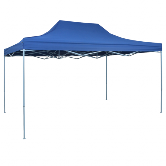 Picture of Outdoor Pop-Up Tent 10' x 15' - Blue