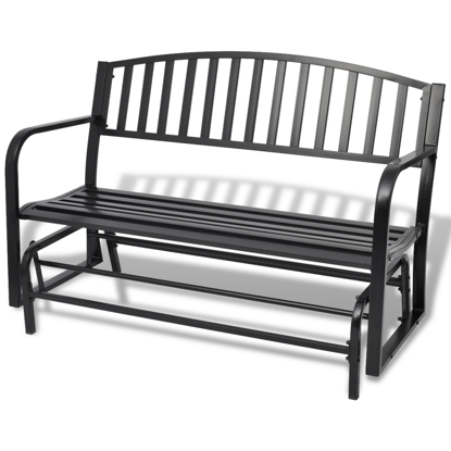 Picture of Outdoor Swing Bench - Black