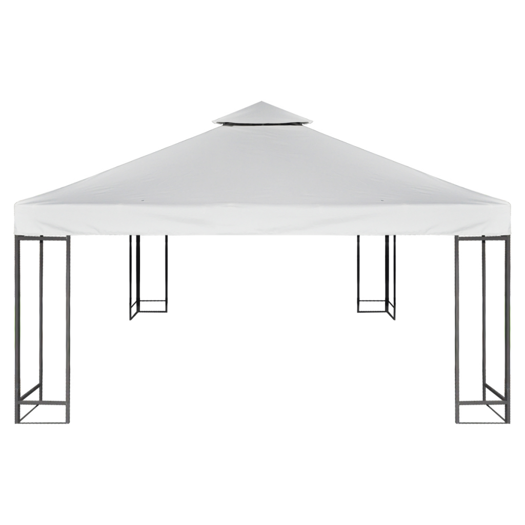 Picture of Outdoor Waterproof 10' x 10' Gazebo Cover Canopy - Cream White