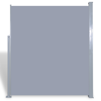 """Picture of Patio Retractable Side Awning 71""""x118"""" Gray"""